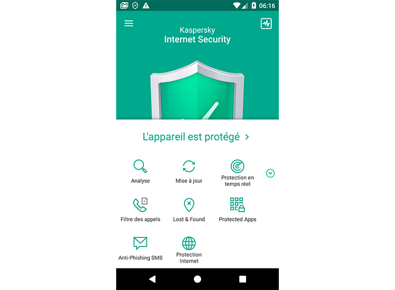 Kaspersky Internet Security for Android content/fr-fr/images/b2c/product-screenshot/screen-KISA-01.png