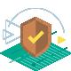 Protège contre la lecture non autorisée des cartes RFID/NFC