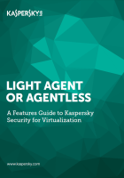 Kaspersky Security for Virtualization – Fonctionnalités