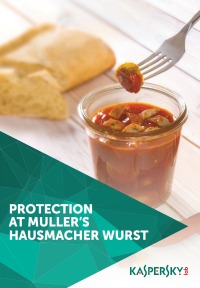 Endpoint protection et DDoS protection pour müller's hausmacher wurst