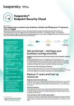 Kaspersky Endpoint Security | Cloud : fiche technique